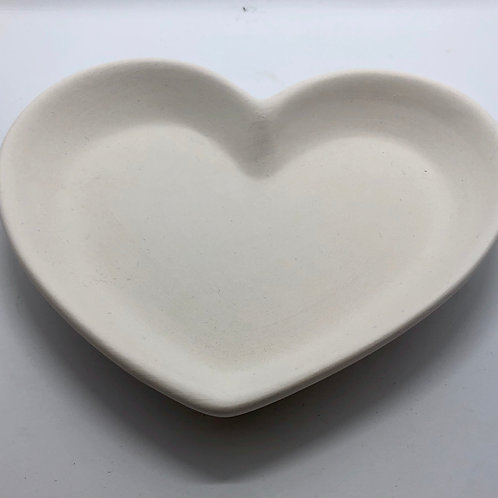 Heart Plate Small 16cm