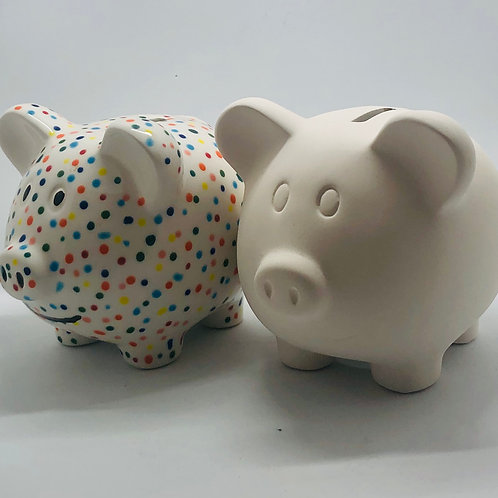 Piggy Money Box 10 x 10 x 12cm