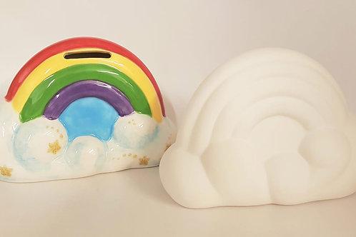 Rainbow Money Box 10.2 x 15.2cm