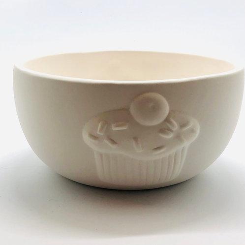 Cupcake Bowl 13.9cm x 6.9cm