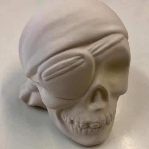 Skull Pirate Small 8.9cm x 7cm