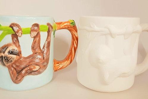 Mug Sloth 14cm H