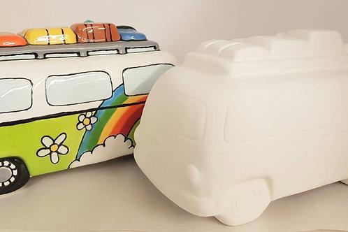 Camper Van Money Box 18.5cm L X 10.5CM H X 11cm W