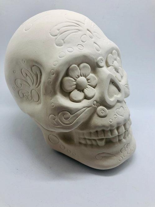Skull Money Box 12.7cm x 10.8cm