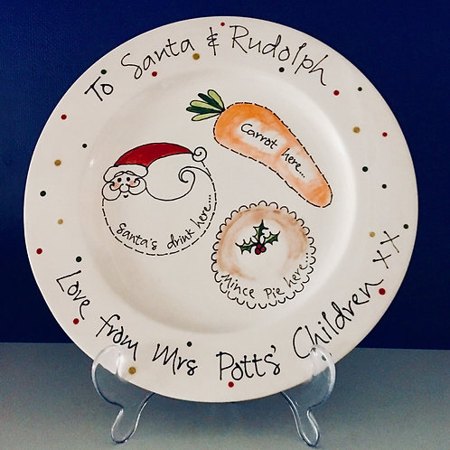 Personalised Hand Painted Christmas Eve