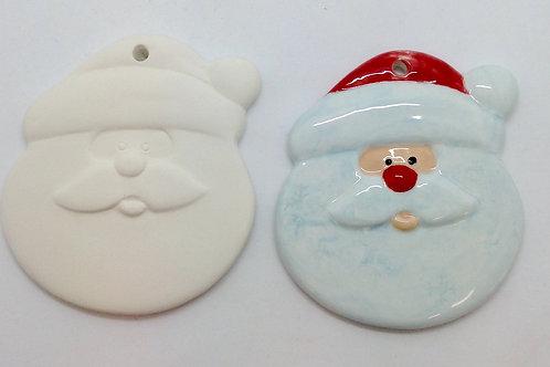 Santa ornament 8.9cm