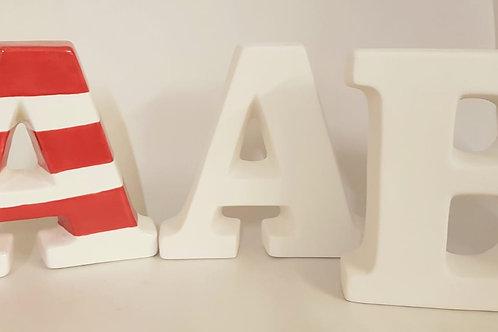 Letters A-Z Large 12.5cm