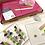 Thumbnail: Glass Fused Coasters 'Make At Home' Kit Colourful Leaves (Make 2)