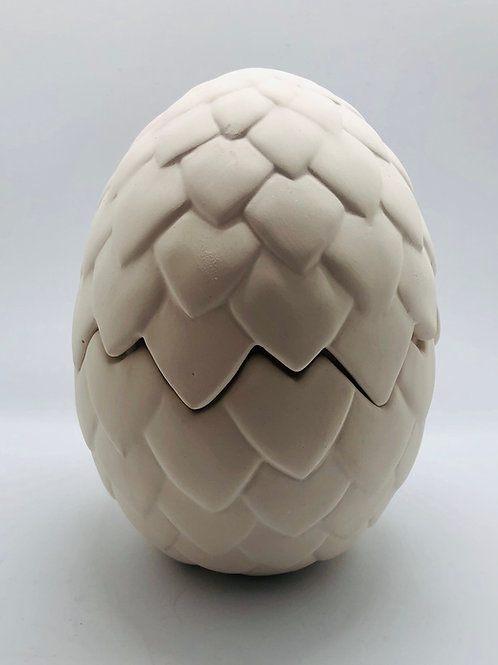 Dragon Egg Pot 14cm H x 10cm W
