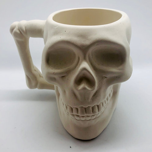 Mug Skull 9.5 cm H