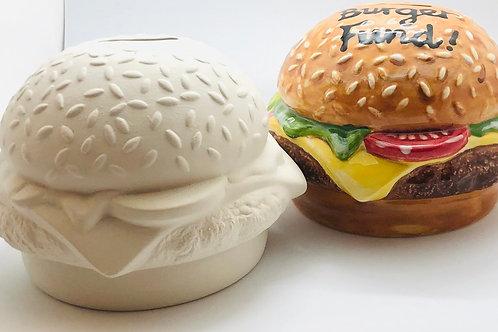 Burger Money Box 10.2 H
