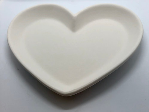 Heart Plate Medium 21.5cm