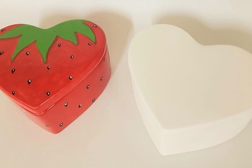 Heart Pot Large 12.1cm w x 5.7cm H
