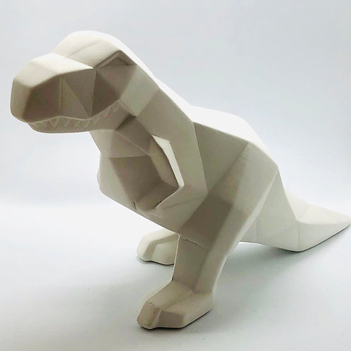 Faceted Dinosaur 26cm L x 16cm H