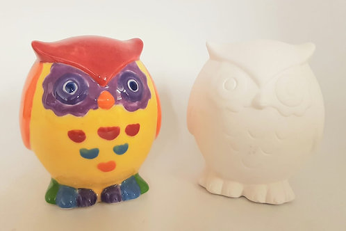 Owl Hoot 7.5cm w 7.50 h