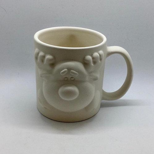 Reindeer Mug 8.9 x 10.2cm