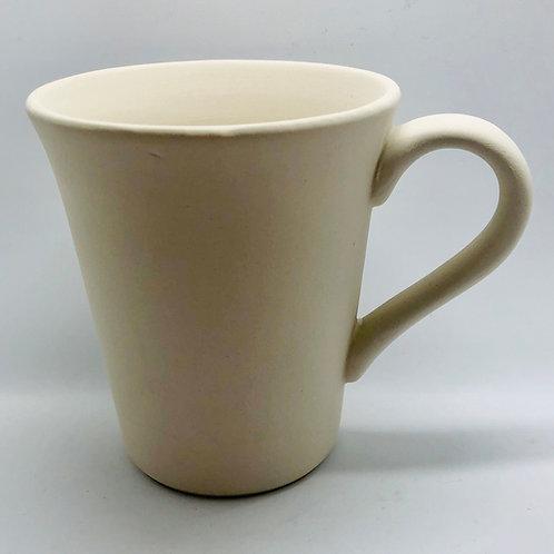 Mug Conical 10.2cm x 11.4cm H