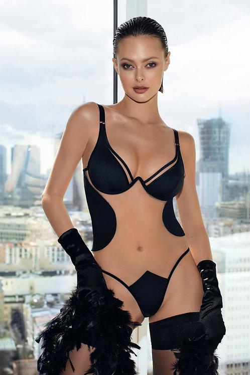 Body negru sexy God Save Queens