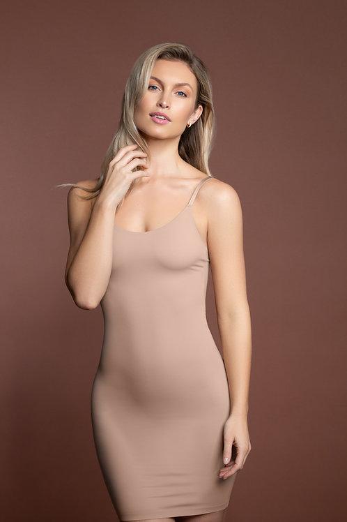 BYE BRA rochie nude usor modelatoare decupaj laser