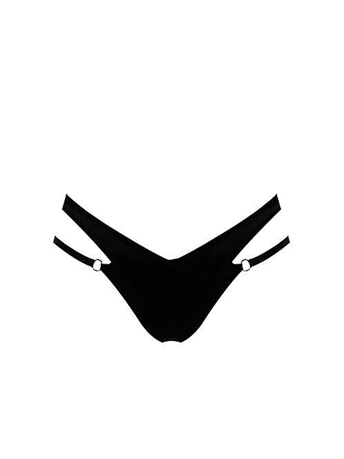 E.L.F. ZHOU LONDON chilot negru Onyx