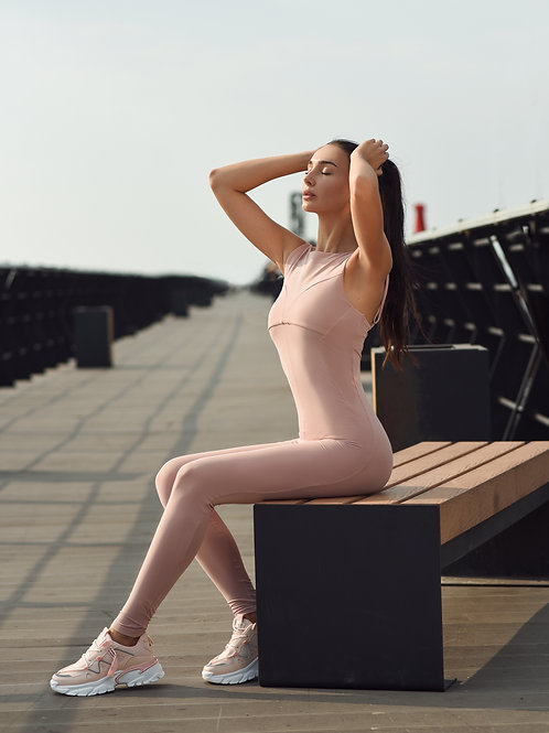 ANTMY salopeta sport roz pudrat Mira