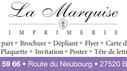 Premier sponsor : Imprimerie La Marquise