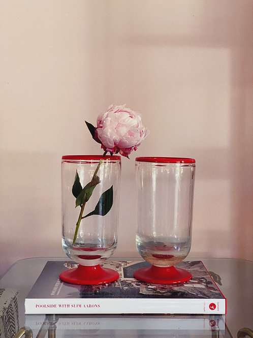 Pair of Murano glass vases C.1970