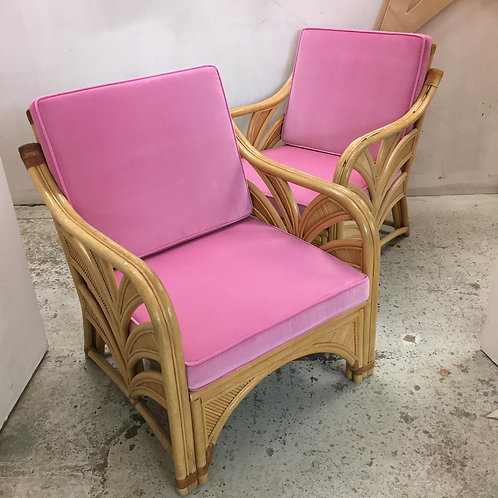 1970s bamboo chairs ~ style of Gabriela Creapi
