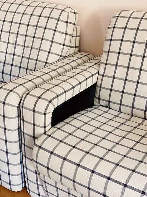 1980s Utrecht style armchairs x 2