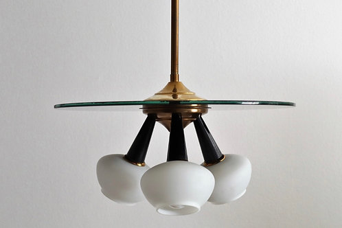 Murano sputnik pendant light c.1970