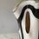 Thumbnail: Murano black and white glass vase C.1970