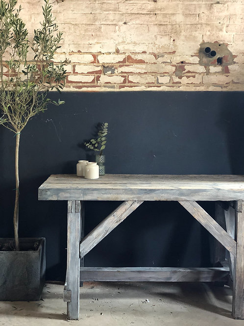 Antique mechanics table ~ Console Table