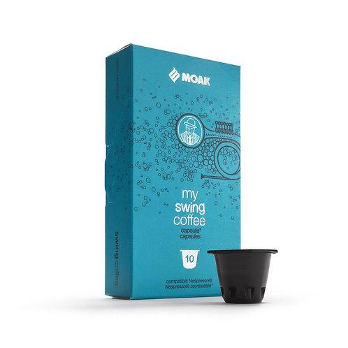 Swing ~ 10 Pods. Nespresso Compatible