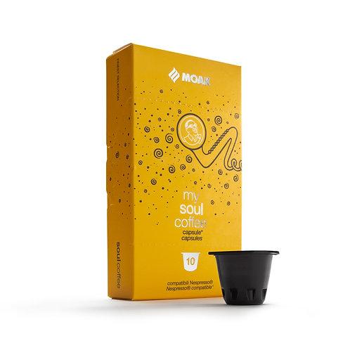 Soul ~ 10 Pods. Nespresso Compatible