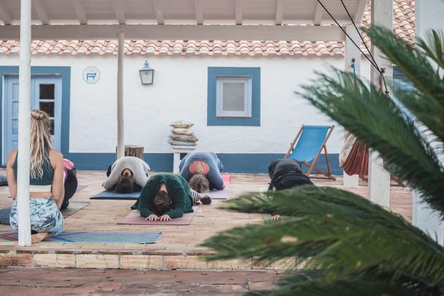 Yoga sessions