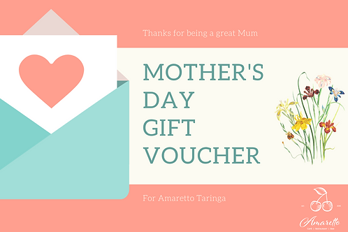 Mother's Day Gift Voucher $20