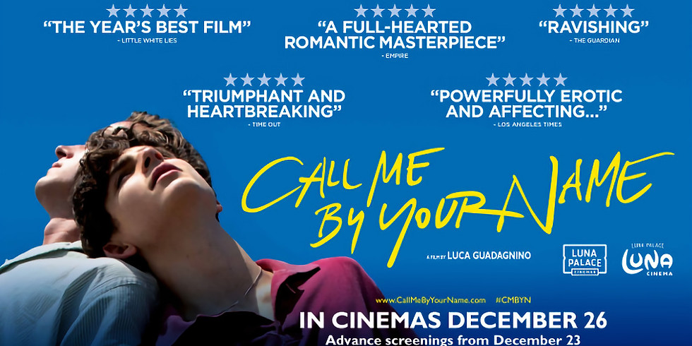 Call Me By Your Name: Film
