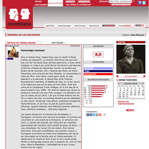 """Rosa Andreu en """"Memoria de las olvidadas""""."""