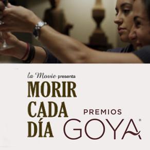 "Paula Vives. ""Morir cada día"", candidata a los Premios Goya."