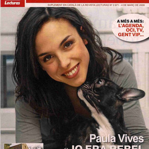 "Paula Vives en ""Lecturas"""