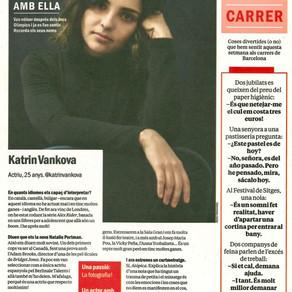 Katrin Vankova en TimeOut