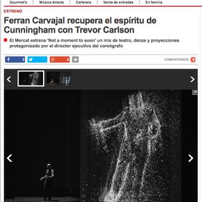 """""""Not a moment to soon"""", de Ferran Carvajal, en elPeriódico."""