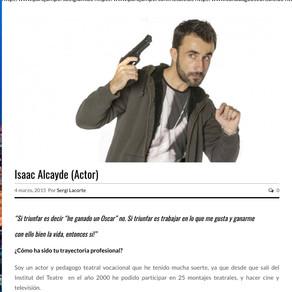 Isaac Alcayde, entrevista en Eye2 Magazine.