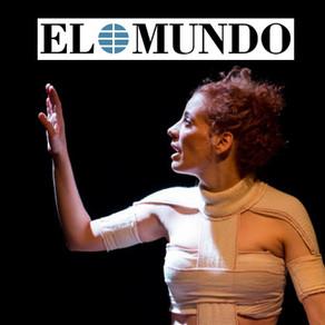"""Miriam Marcel """"La piel escrita"""". El Mundo."""