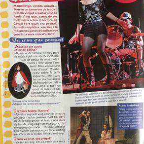 """Entrevista Paula Vives en la revista """"El cavall fort"""""""