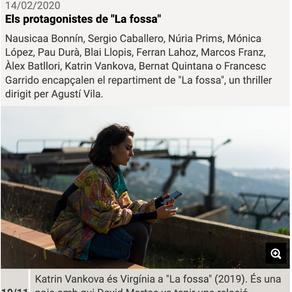 """Los protagonistas de """"La fossa"""". Katrin VanKova"""