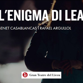 """""""L'enigma di Lea"""" en el Teatre del Liceu"""