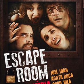 """Paula Vives en """"ESCAPE ROOM"""" de Joel Joan y Hèctor Claramunt."""