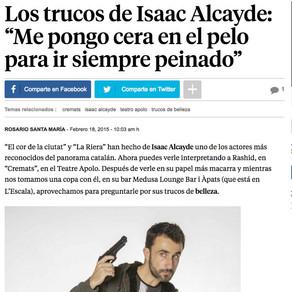Isaac Alcayde en La Vanguardia.