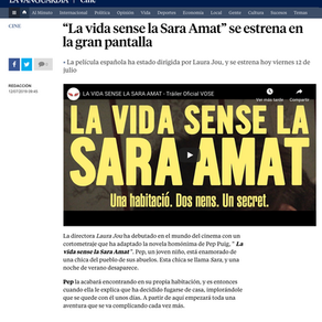 """MARTÍ MÚRCIA. """"La vida sin Sara Amata"""". La vanguardia"""